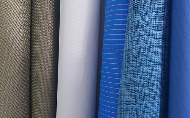 PU coated fabrics