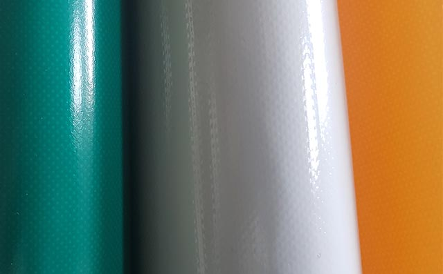 One and double side PVC coated fabrics